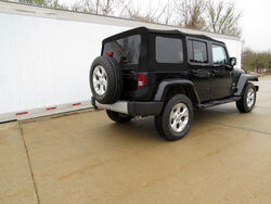 Curt 2009 Jeep Wrangler Unlimited Trailer Hitch