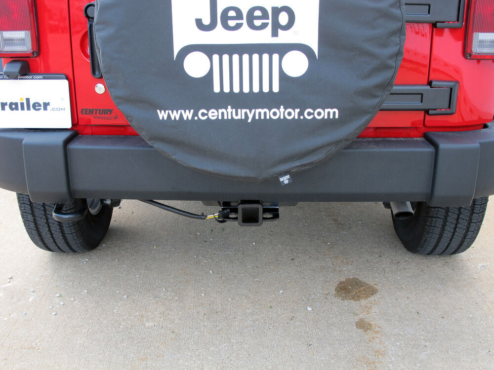 2016 Jeep Wrangler Unlimited Trailer Hitch
