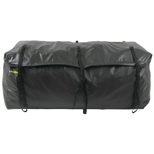 etrailer hitch cargo carrier bag large capacity 59l x 24w 24h inch w/ mounting straps - water resistant 20 cu ft 59 24