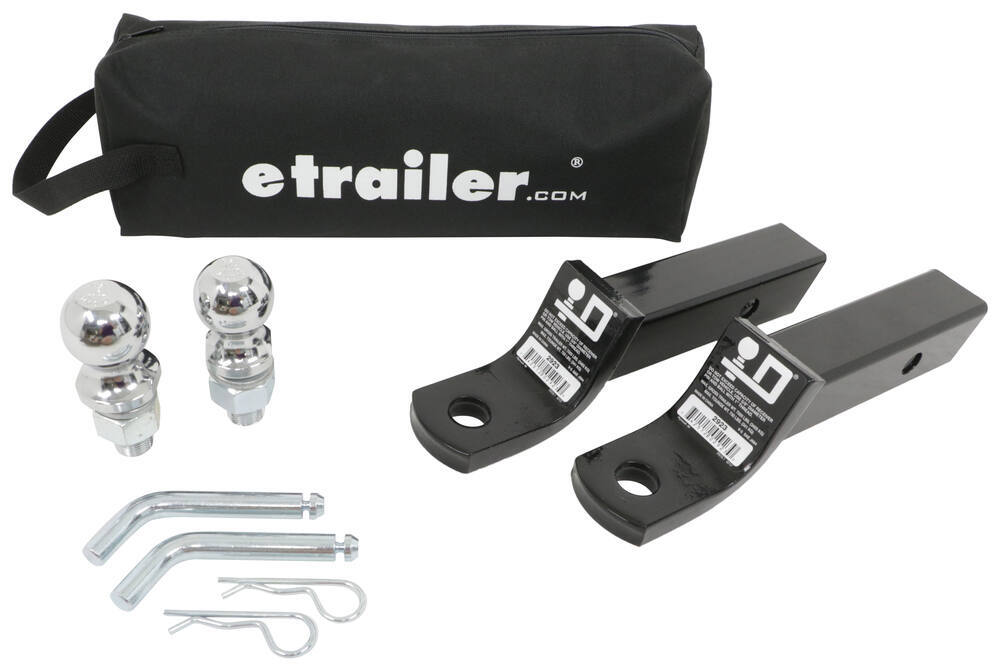 989899 - Ball Mount Kit etrailer Fixed Ball Mount