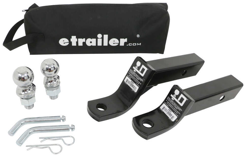"etrailer.com Ball Mount Kit for 2"" Hitches - 7,500 lbs Class III,7500 lbs GTW 989900"