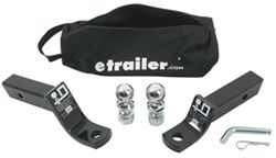"etrailer.com Ball Mount Kit for 2"" Hitches - 7,500 lbs"