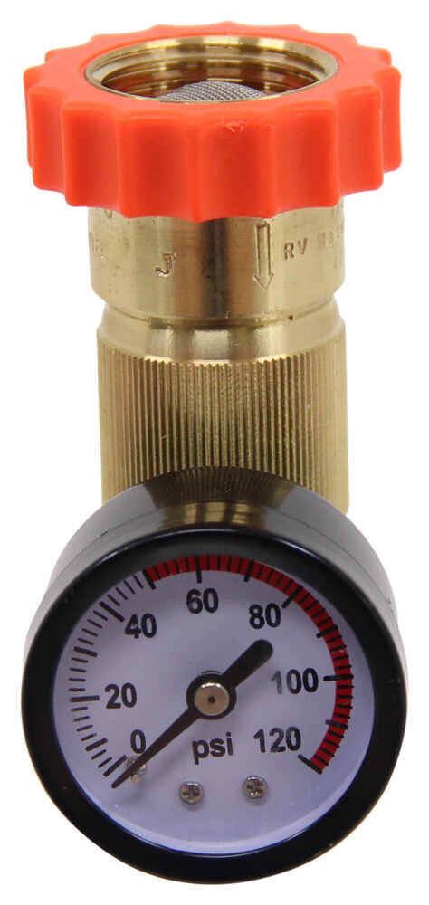 valterra water regulator and pressure gauge for rvs lead free valterra rv fresh water a01 1124vp. Black Bedroom Furniture Sets. Home Design Ideas