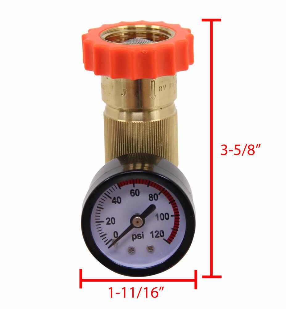 valterra water regulator and pressure gauge for rvs lead free valterra rv fresh water a01 1124vp. Black Bedroom Furniture Sets. Home Design Ideas