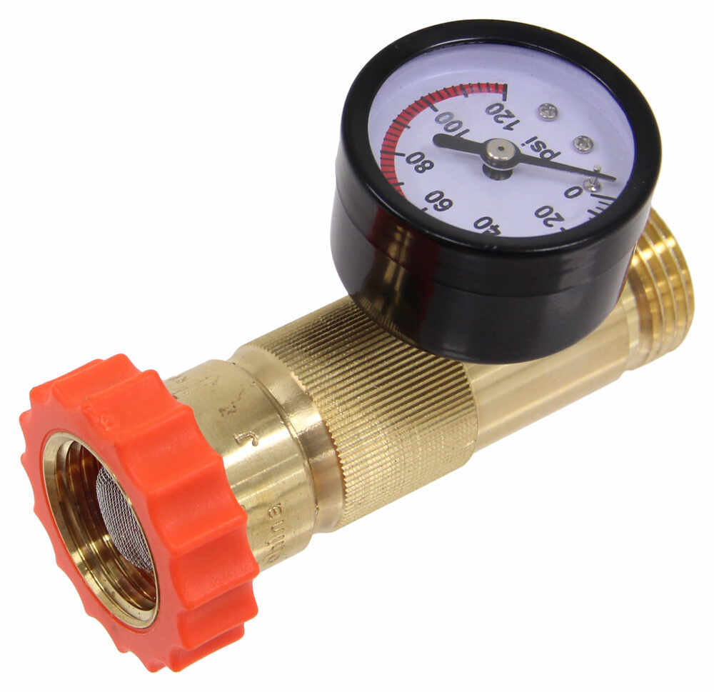 valterra water regulator and pressure gauge for rvs lead free valterra rv f. Black Bedroom Furniture Sets. Home Design Ideas