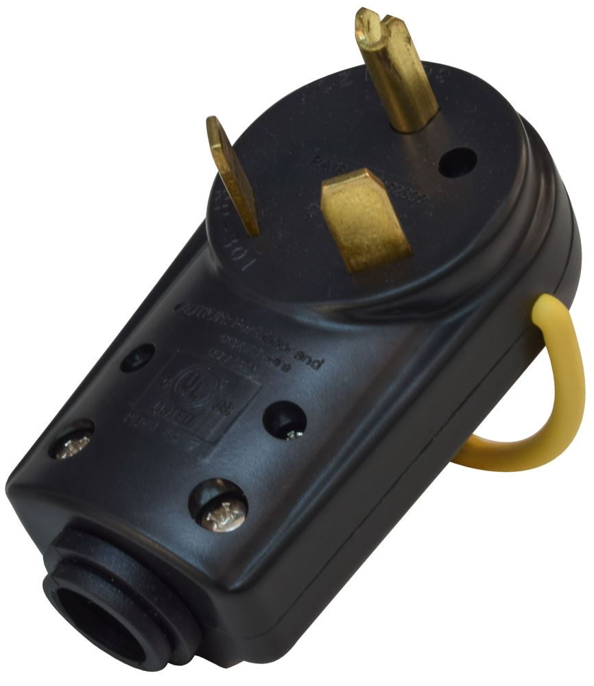 30 Amp To 50 Amp Male Round Mighty Cord Rv Wiring A105030avp ... Xlr Male Wiring Diagram on