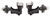 timbren trailer axles rubber spring suspension 5 on 4-1/2 a12ws545