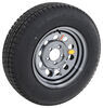"Provider ST205/75R15 Radial Tire w/ 15"" Steel Mod Wheel - 5 on 4-1/2 - LR C - Black PVD Finish"