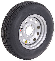 "Provider ST205/75R15 Radial Trailer Tire with 15"" Silver Mod Wheel - 6 on 5-1/2 - Load Range D"