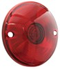 Replacement Lens for Optronics ST21RS/ST20RS Series Tail Lights - Round - Red
