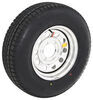 "Provider ST225/75R15 Radial Tire w/ 15"" Steel Mod Wheel - 6 on 5-1/2 - LR D - Silver PVD Finish"