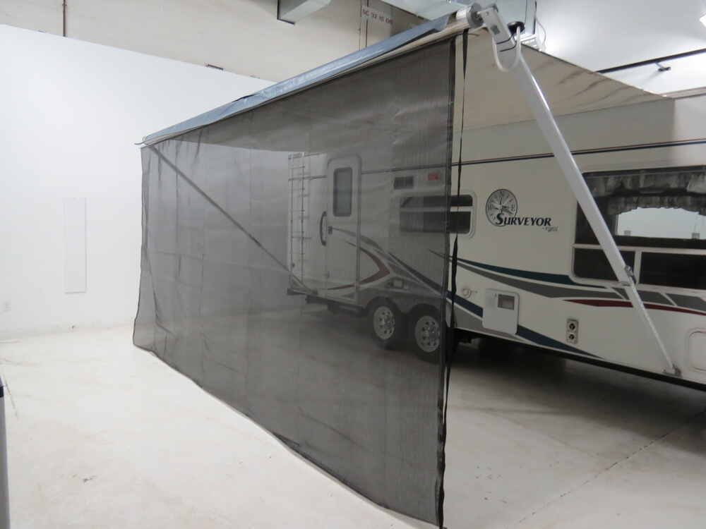 Valterra Awning Drape W Solar Powered Rope Light And Dual