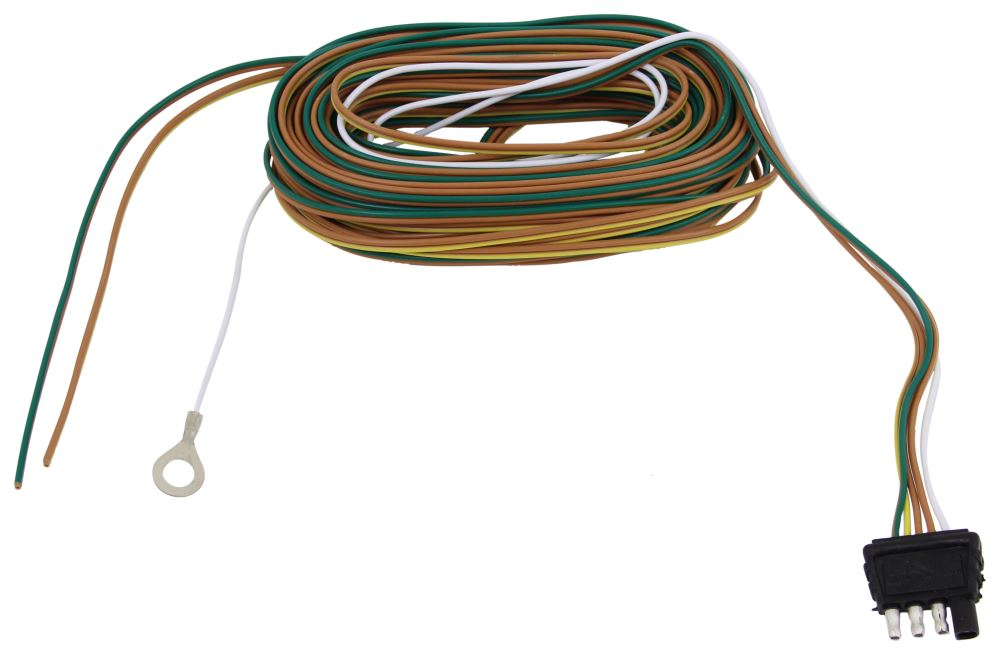 35 ft. wishbone 4-way trailer wiring harness with 42 ... 20 pin wire harness wire wire harness ground