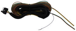 "4-Way Wishbone Trailer Wiring Harness with 42"" Ground Wire - 40' Long"