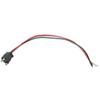"3-Wire Pigtail for Optronics Trailer Lights - 3-Prong PL-3 Plug - 10"" Lead"