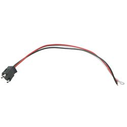 "3-Wire Pigtail for Optronics Trailer Lights - 3 Prong Plug - 10"" Lead"