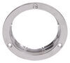 "Stainless Steel Mounting Flange for Optronics Recessed Mount Trailer Lights - 4"" Round"