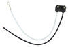 "2-Wire Pigtail for Optronics Trailer Lights - 2-Prong PL-10 Plug - 6"" Lead"