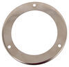 "Stainless Steel Trim Ring for Optronics Flange Mount Trailer Lights - 4"" Round"