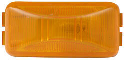 Optronics Trailer Clearance and Side Marker Light - Submersible - Rectangle - Amber Lens