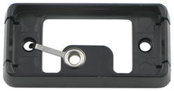 Black Mounting Bracket for A91 and AL91 Series Trailer Clearance, Side Marker Lights -Self Grounding
