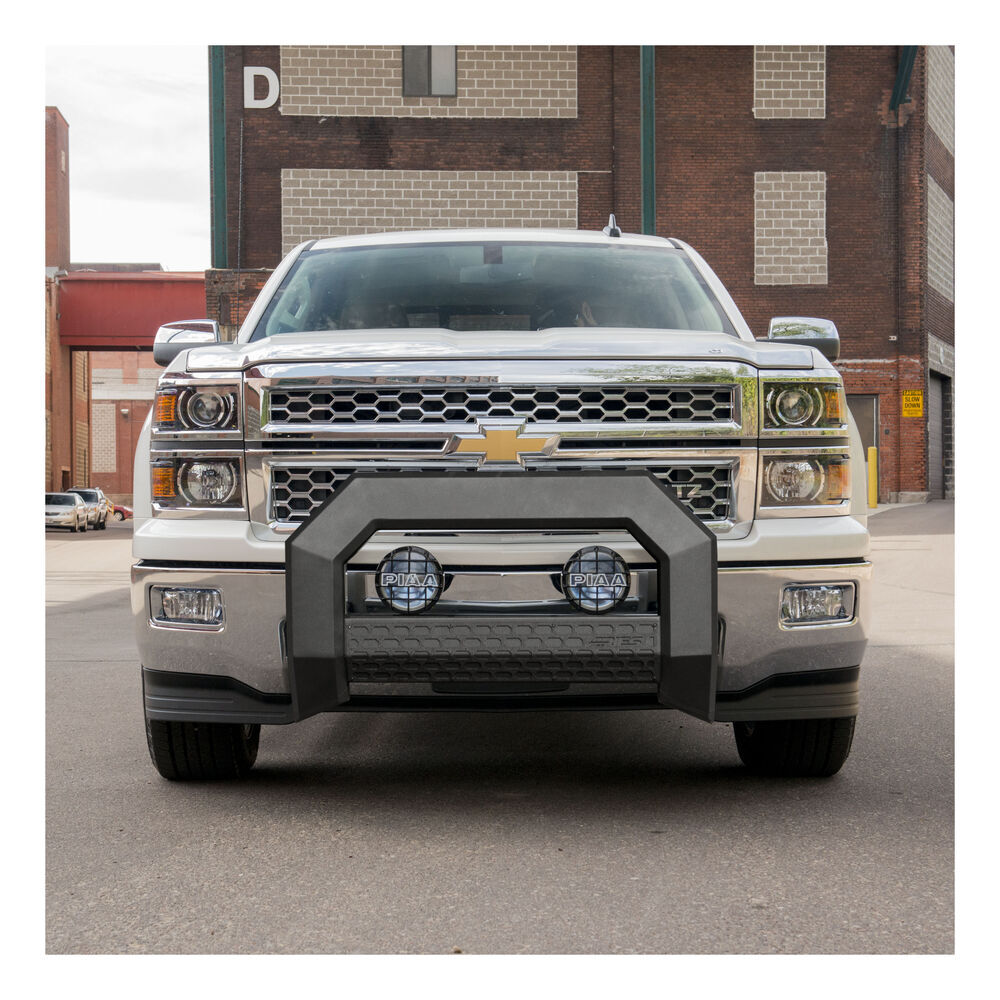 Grill Guards For Chevy Trucks : Chevrolet silverado grille guards aries automotive