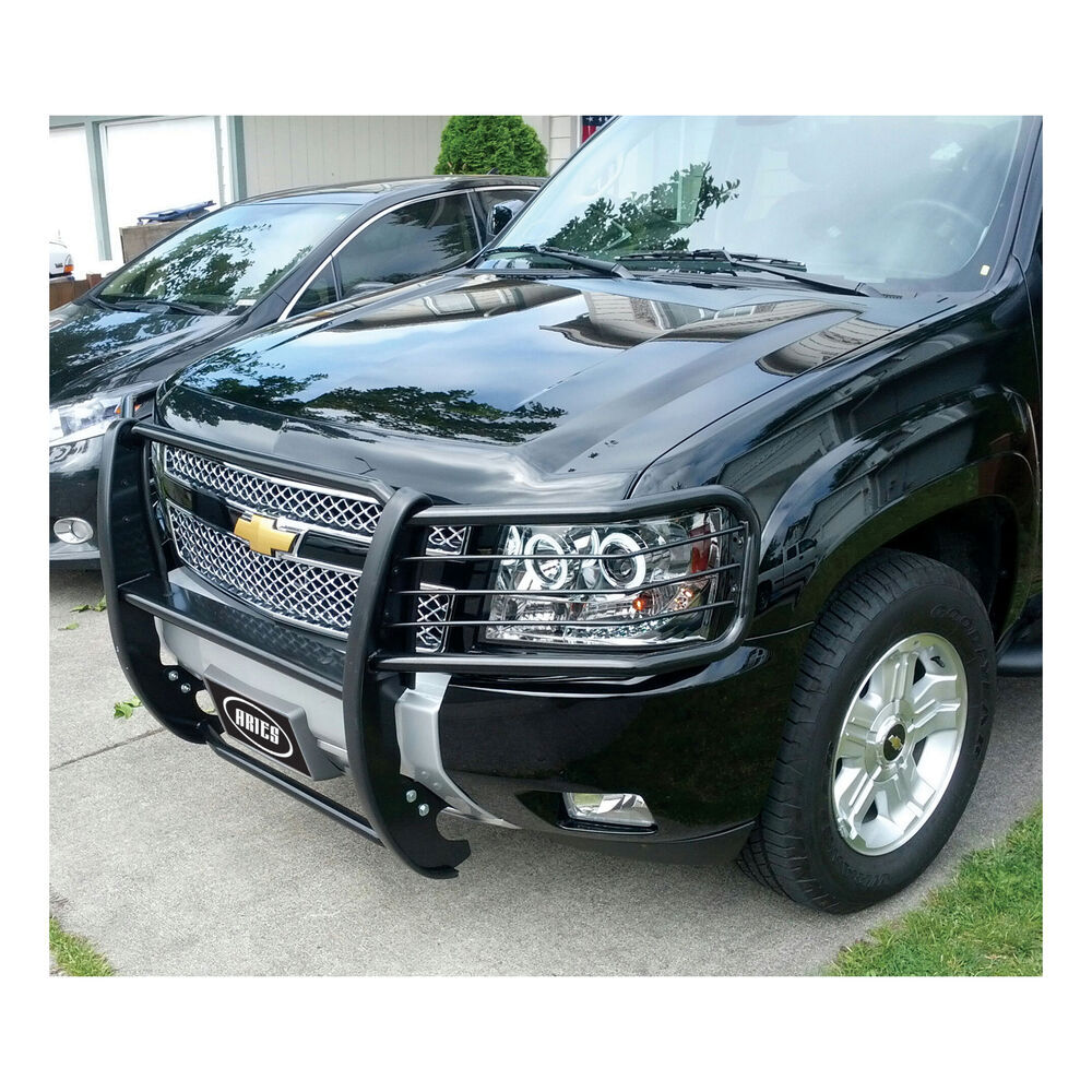2007 chevrolet avalanche aries grille guard 1 piece. Black Bedroom Furniture Sets. Home Design Ideas