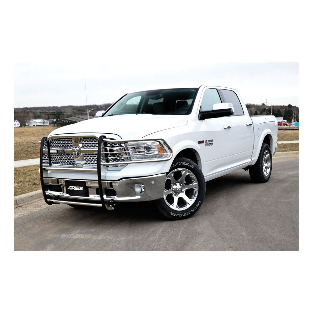 2015 Ram 1500 Aries Grille Guard 1 Piece Polished