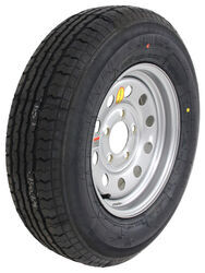"Contender ST175/80R13 Radial Trailer Tire w/ 13"" Silver Mod Wheel - 5 on 4-1/2 - Load Range C"