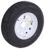 "Contender ST175/80R13 Radial Trailer Tire w/ 13"" White Mod Wheel - 5 on 4-1/2 - Load Range C"