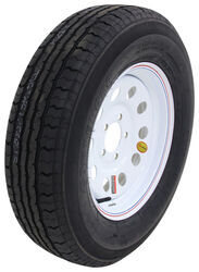 "Contender ST205/75R15 Radial Trailer Tire w/ 15"" White Mod Wheel - 5 on 4-1/2 - Load Range C"