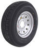"Contender ST235/80R16 Radial Trailer Tire w/ 16"" Silver Mod Wheel - 6 on 5-1/2 - Load Range E"