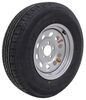 "Contender ST225/75R15 Radial Trailer Tire w/ 15"" Silver Mod Wheel - 5 on 4-1/2 - Load Range D"