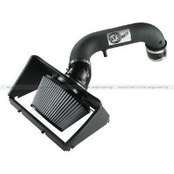 aFe Direct-Fit Cold Air Intake System with Pro Dry S Filter - Stage 2 - Black Intake Tube