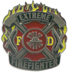 "Extreme Firefighter Hitch Receiver Cover for 2"" Trailer Hitches"