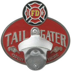 "Firefighter's Cross Tailgater 2"" Trailer Hitch Cover"