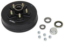 "Trailer Hub and Drum Assembly - 3,500-lb Axles - 10"" Diameter - 5 on 4-1/2"