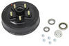 "Trailer Hub and Drum Assembly - 3,500-lb Axles - 10"" Diameter - 5 on 5"