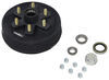 "Trailer Hub and Drum Assembly - 3,500-lb Axles - 10"" Diameter - 6 on 5-1/2"