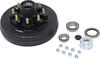 "Trailer Hub and Drum Assembly - 7,000-lb E-Z Lube Axles - 12"" Diameter - 8 on 6-1/2"