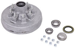 "Trailer Hub and Drum Assembly - 5,200-lb to 7,000 lb Axles - 12"" - 8 on 6-1/2 - Galvanized"