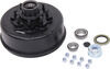 "Trailer Hub and Drum Assembly - 8,000-lb E-Z Lube Axles - 12-1/4"" Diameter - 8 on 6-1/2"