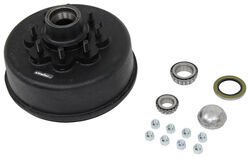 "Trailer Hub and Drum Assembly - 8,000-lb Axles - 12-1/4"" Diameter - 8 on 6-1/2"