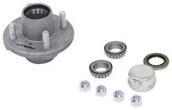 Trailer Idler Hub Assembly for 2,000-lb Axles - 4 on 4 - Galvanized - AKIHUB-440-2-G-2K