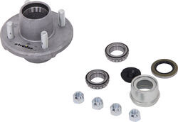 Trailer Idler Hub Assembly for 2,000-lb E-Z Lube Axles - 4 on 4 - Galvanized - AKIHUB-440-2-G-EZ-2K
