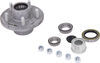 Trailer Idler Hub Assembly for 3,500-lb E-Z Lube Axles - 5 on 4-1/2 - Galvanized