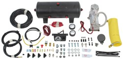 Air Lift QuickShot Compressor System for Air Springs - Support Line and Reserve Tank - Single Path