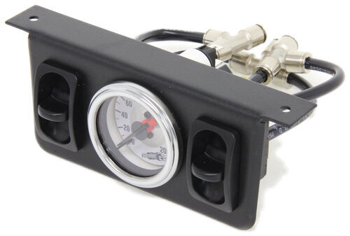 Replacement Dual Needle Gauge With 2 Paddle Switches For
