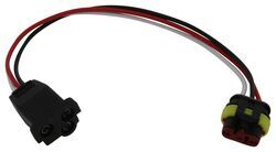 Three-Wire Straight Pigtail for Optronics Weatherproof Stop/Turn/Tail
