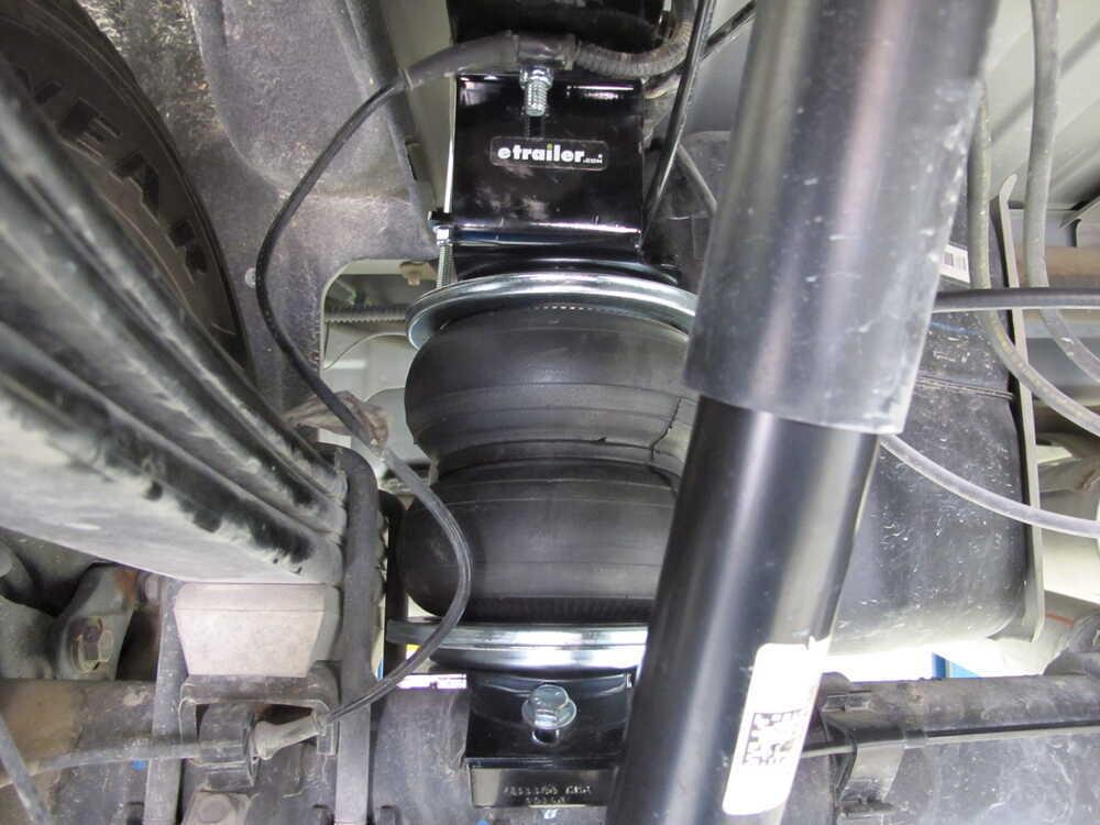 2017 Chevrolet Silverado 1500 Vehicle Suspension Air Lift
